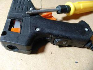 Термоклеевой пистолет: устанавливаем кнопку-выключатель. Ярмарка Мастеров - ручная работа, handmade.