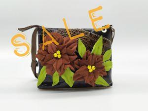 Сентябрим сочными красками! Распродажа сумок в коже!. Ярмарка Мастеров - ручная работа, handmade.