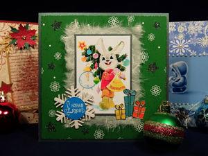 Новогодние открытки. Ярмарка Мастеров - ручная работа, handmade.