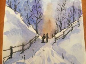 Зимняя прогулка. Ярмарка Мастеров - ручная работа, handmade.