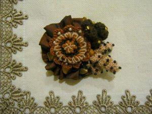 Создаём брошь «Осеннее ассорти». Ярмарка Мастеров - ручная работа, handmade.