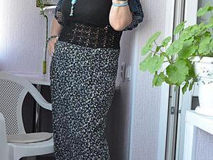 Простенькая юбочка плюс кусочек борцовки &#8212&#x3B; получится красивенькое летнее платье. Ярмарка Мастеров - ручная работа, handmade.