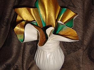 Вазочка для Новогоднего Букета. Ярмарка Мастеров - ручная работа, handmade.