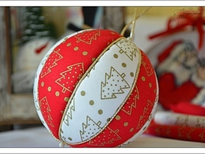 """Новогодний мастер-класс """"Елочный шар в технике кинусайга"""".. Ярмарка Мастеров - ручная работа, handmade."""