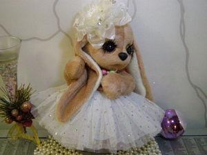 Доброй и Благополучной Пятницы пожелаем всем с Заинькой Паффи!(друзьям). Ярмарка Мастеров - ручная работа, handmade.