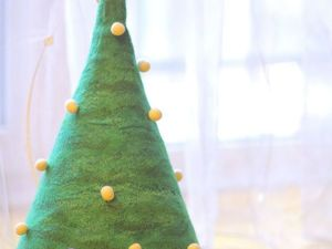 Мастерим валяную ёлку к Новому году. Ярмарка Мастеров - ручная работа, handmade.