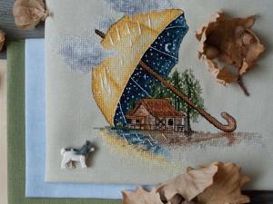 Под зонтом. Ярмарка Мастеров - ручная работа, handmade.