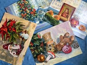С праздничной и зимней тематикой!. Ярмарка Мастеров - ручная работа, handmade.