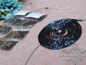 Еще один плоский браслет. Ярмарка Мастеров - ручная работа, handmade.