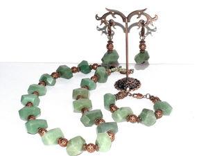 Видео обзор новых авторских украшений из натуральных камней. Ярмарка Мастеров - ручная работа, handmade.