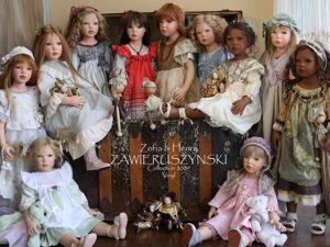 Коллекционные куклы от Zofia &amp&#x3B; Henry Zawieruszynski. Ярмарка Мастеров - ручная работа, handmade.