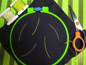 Простые швы для начинающих вышивальщиц. Ярмарка Мастеров - ручная работа, handmade.