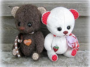 Мастер-класс по пуговичному креплению лап мишек Тедди и других игрушек. Ярмарка Мастеров - ручная работа, handmade.