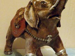 Индийский слон. Ярмарка Мастеров - ручная работа, handmade.
