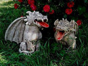 Гаргулья и химера —   мистические стражи ваших порогов. Ярмарка Мастеров - ручная работа, handmade.