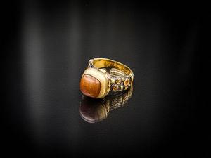 Видео кольца с солнечным камнем. Ярмарка Мастеров - ручная работа, handmade.