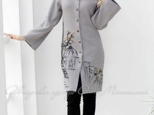 Аукцион на Вязаное пальто! Старт 4000 руб.!. Ярмарка Мастеров - ручная работа, handmade.