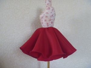 Видеоурок: шьем юбку клеш. Ярмарка Мастеров - ручная работа, handmade.
