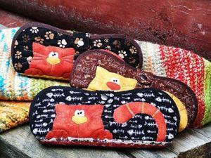 На этой неделе -15% на очешники Котаусы (3 вида). Ярмарка Мастеров - ручная работа, handmade.