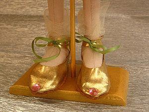 Туфельки для маленькой Принцессы (мастер класс). Ярмарка Мастеров - ручная работа, handmade.