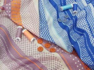 Костюмно-плательная ткань из шерсти и шелка. Ярмарка Мастеров - ручная работа, handmade.