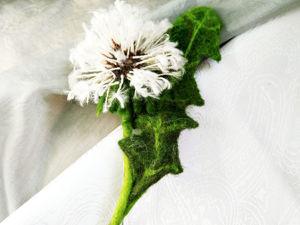Войлочные цветы. Подборка работ для вдохновения. Ярмарка Мастеров - ручная работа, handmade.