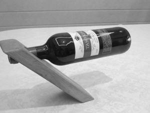 Мастерим оригинальную подставку для бутылки. Ярмарка Мастеров - ручная работа, handmade.