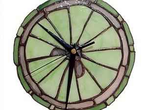 Создание витража в технике Тиффани на примере часов. Ярмарка Мастеров - ручная работа, handmade.