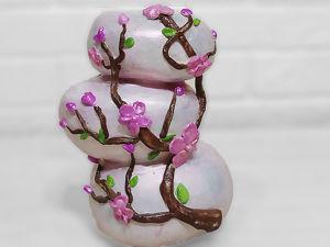 Делаем вазу из камней в восточном стиле. Ярмарка Мастеров - ручная работа, handmade.