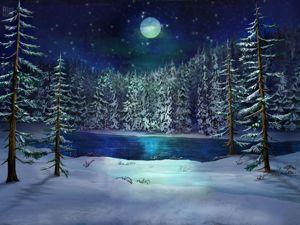 Снегожитель привиделся мне прошлой зимой. Ярмарка Мастеров - ручная работа, handmade.