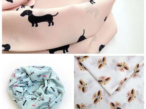 Снуды со стрекозами, собаками и кошками!!!. Ярмарка Мастеров - ручная работа, handmade.