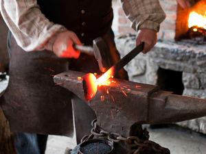 Ковать метал вручную, это не языком трепаться. Ярмарка Мастеров - ручная работа, handmade.