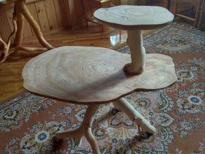 Делаем оригинальный стол-этажерку. Часть 1. Первое склеивание. Ярмарка Мастеров - ручная работа, handmade.
