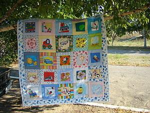 Одеяло «Найди картинку». Ярмарка Мастеров - ручная работа, handmade.