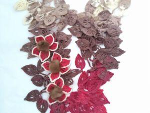 Авторские оригинальные шарфики от 1000 руб. Ярмарка Мастеров - ручная работа, handmade.