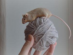 Мелкомоторненько про мышку. Ярмарка Мастеров - ручная работа, handmade.