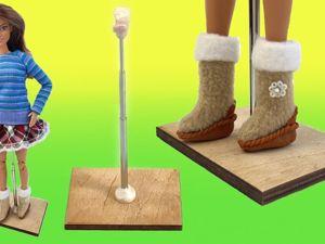 Из чего сделать подставку-седло для куклы Барби? Для чего нужны кукольные подставки?. Ярмарка Мастеров - ручная работа, handmade.