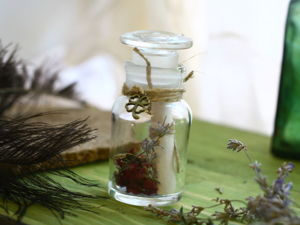 Tutorial: Aged invitation in a Jar. Livemaster - handmade