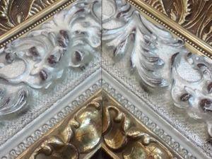 Пример оформления картины в багет. Ярмарка Мастеров - ручная работа, handmade.