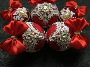 Новогодние шарики как традиция и подарок. Ярмарка Мастеров - ручная работа, handmade.