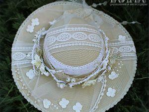Персональный заказ по мотивам шляпки Амалия. Ярмарка Мастеров - ручная работа, handmade.