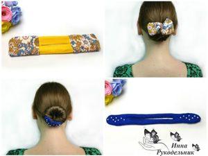 Как сделать заколку для волос «Софиста-твиста»: видео мастер-класс. Ярмарка Мастеров - ручная работа, handmade.
