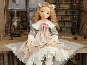 5 Basic Birth Steps of a Textile Doll. Livemaster - handmade