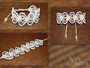 Плетём браслет в технике макраме. Часть 2. Ярмарка Мастеров - ручная работа, handmade.