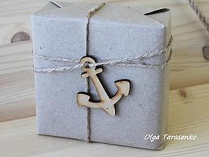 Упаковываем подарок: Sea style. Ярмарка Мастеров - ручная работа, handmade.