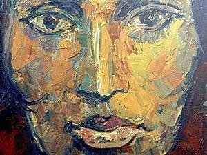 """""""Портрет амазонки"""". Хулиганский мастер-класс по живописи маслом. Ярмарка Мастеров - ручная работа, handmade."""