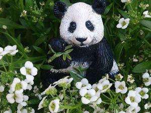 Мастер-класс: лепим милую брошку-панду из полимерной глины. Ярмарка Мастеров - ручная работа, handmade.