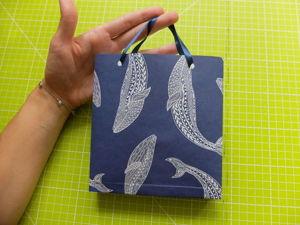 Мастер-класс по созданию крафт пакета (оригами). Ярмарка Мастеров - ручная работа, handmade.