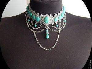 Аукционы на ожерелья из камней. Ярмарка Мастеров - ручная работа, handmade.