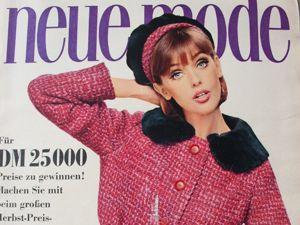 Новая мода Neue Mode 9/1966. Ярмарка Мастеров - ручная работа, handmade.